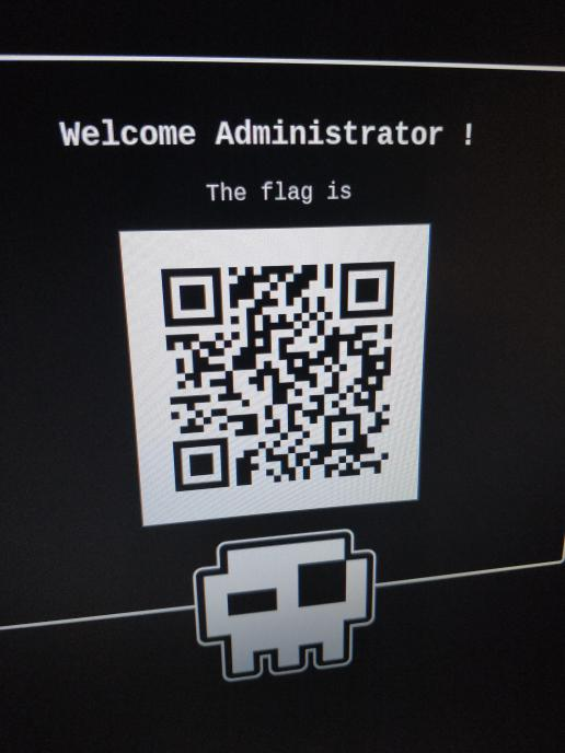 Welcome Administrator